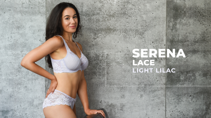 Serena Lace – Light Lilac