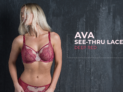 Ava Lace – Deep Red