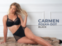 Carmen Polka-Dot – Black