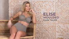 Elise Moulded – Dark Taupe