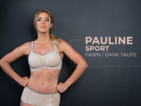 B9660 Pauline Sport – Fawn / Dark Taupe