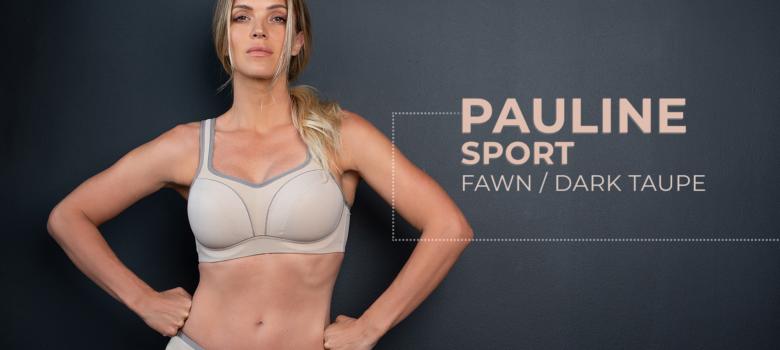 Pauline Sport – Fawn / Dark Taupe