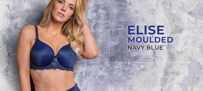 Elise Moulded – Navy Blue